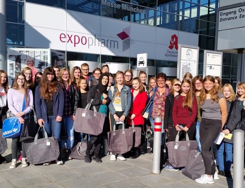 PTA-Schule Nürnberg war auf der Expopharm